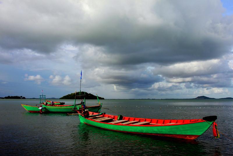 Boats at Rabbit Island