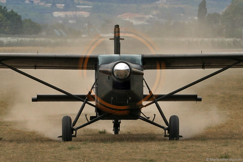 F-MMCA PC-6/B2-H4 #887 ALAT @ Gap-Tallard France 7Sep03