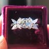 1.47ctw August Vintage Diamond Fancy Ring 9