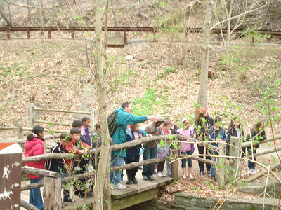 3W Visits the Wissahickon Gorge