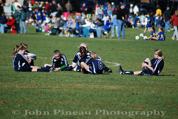 2009-11-01 Girls Soccer - South Portland Strikers vs Westbrook
