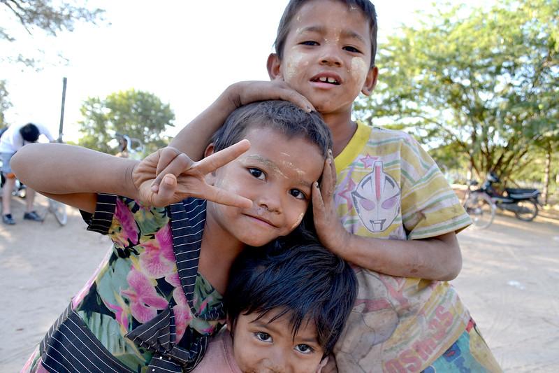 Young friends; Mandalay, Myanmar