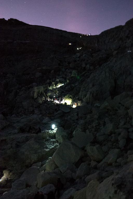 Kawah Ijen trail crater