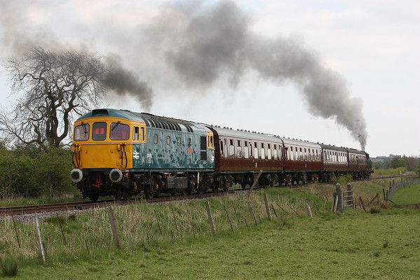 33102 - Churnet Valley Railway, 3rd May 2014