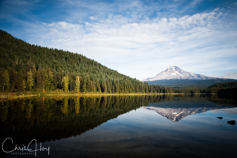 Trillium Lake & Mt. Hood on a beautiful fall afternoon