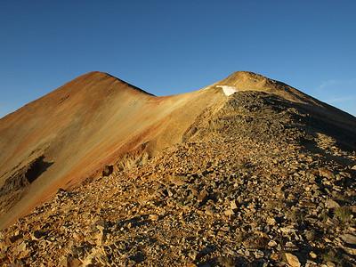 RedCloud Peak (14034') and Sunshine Peak (14001') 8.22.09