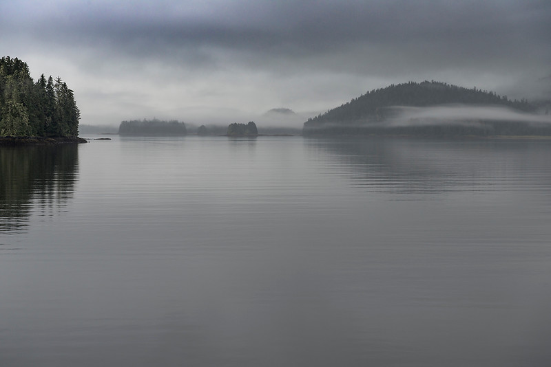 Early Gray Morning- Thomas Bay, AK