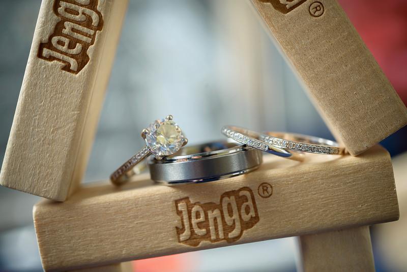 Details: Rings, Dress, Flowers, Venue, Etc.