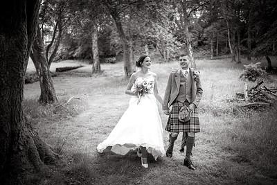 Garvie Wedding B&W