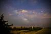 sagittarius,mars,saturn,milky way,clouds