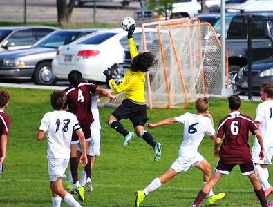 JHS Soccer vs Brighton Game 2