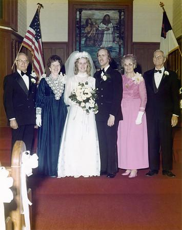 Egan Wedding 1973