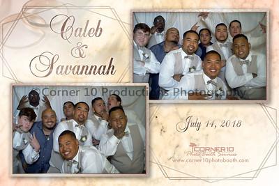 Caleb and Savannah's Wedding Reception