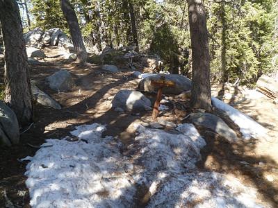 San Jac via Marion Trail and Suicide Rock, April 20, 2013