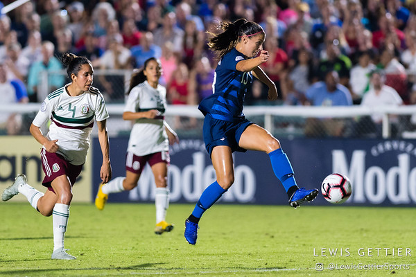 USWNT vs Mexico 10-4-2018
