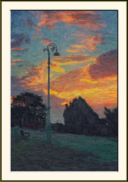 A Post-Impressionist Folkestone Evening