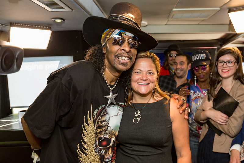 2017_09_15, Bootsy Collins, Bus, City Hall, Interior, Melissa Mark-Viverito, New York, NY