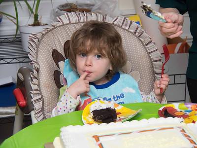 Mariel's 2 Yr Birthday Weekend 20131228