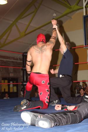 CHIKARA 9/17/11 - Vin Gerard vs Jigsaw