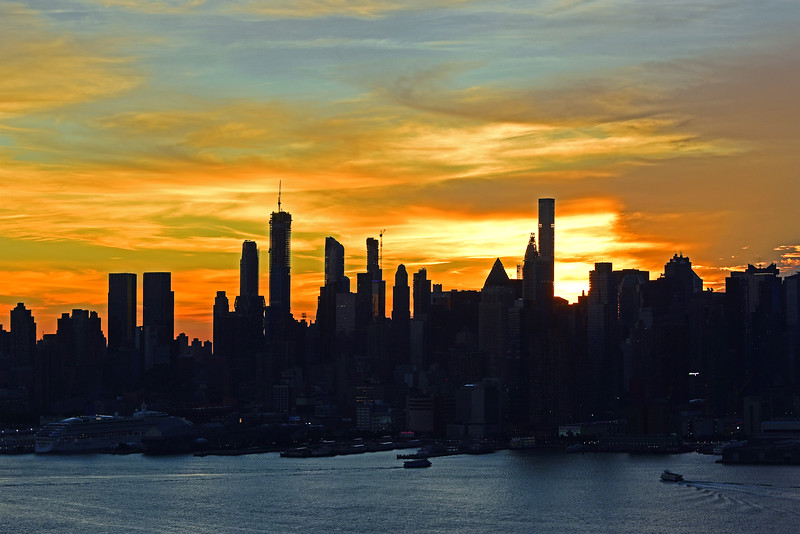 NYC Monday Morning Sunrise