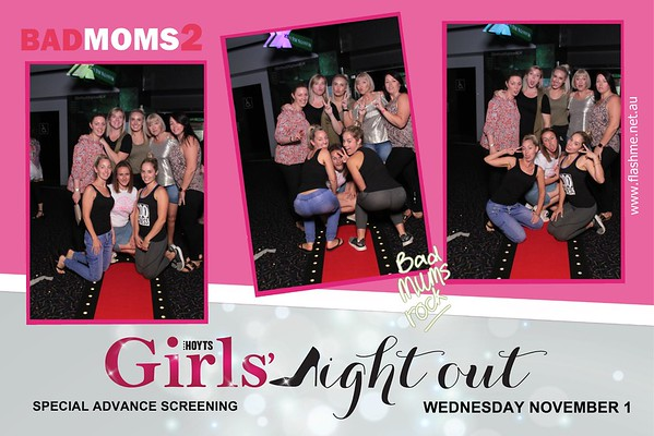 Girls Night Out - Bad Moms 2 - 2 November 2017