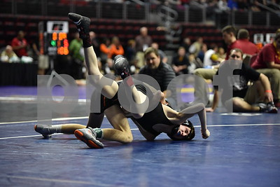 2A State Wrestling: First Day Consolations 2016