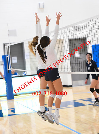 9-23-17 - NFL Yet Academy vs. Pusch Ridge (Desert Classic) Volleyball