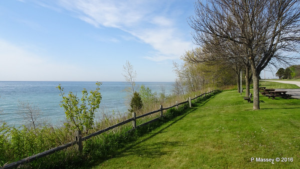 Road:- N Kewaunee to Sturgeon Bay WI 24 May 2016