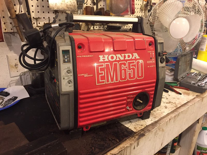 Generator would not crank after sitting idle in the attic for 10+ years