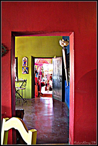 Exiting Scarlet  Hotel California; Todos Santos, Mexico