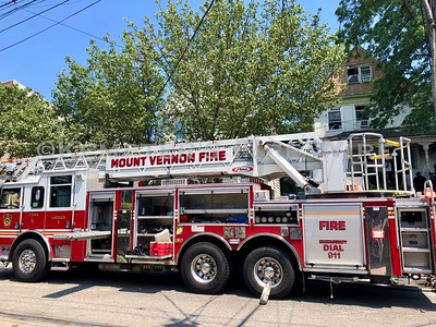 Structure Fire - West Lincoln Ave, Mt Vernon, NY - 7/4/19