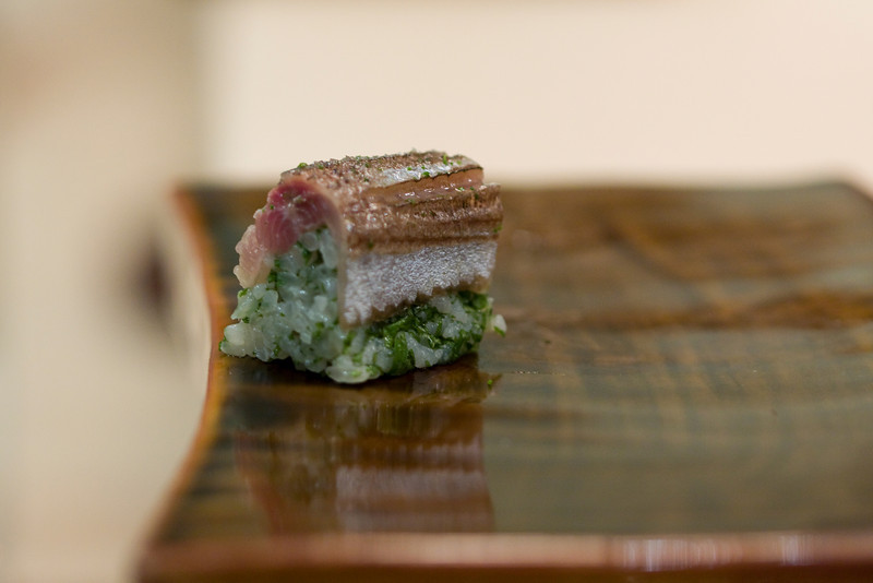 Course #10: Sushi Sushi #17: Pike Mackerel