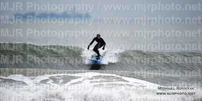 Surfing, L.B. West, NY, 01.22.12