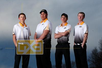 Tomah boys' golf seniors BG18