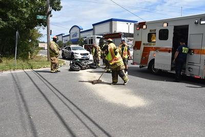 Motorcylce Crash on McGraw ST Mastic [08.31.19]