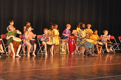 2nd Grade African Drumming Presentation