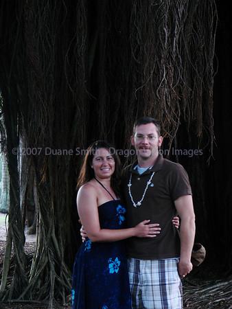 Tanya and Gary in Hawaii 20070527