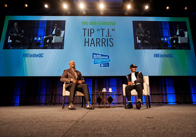 Fireside Chat -The Grand Hustle with Tip T.I. Harris with Ed Gordan BE Summit @ Charlotte Convention Center 6-8-18 by Jon Strayhorn
