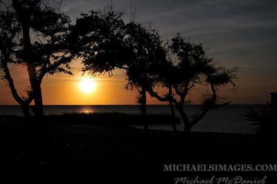 Sunset Hatteras 2013