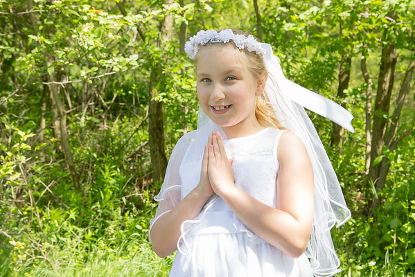 Bailee's First Communion