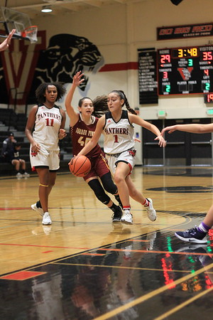 2019 11 30 Vista High School Panthers Girls' Varsity Basketball