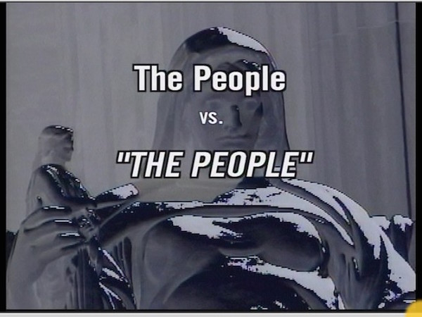 The People vs the PEOPLE!