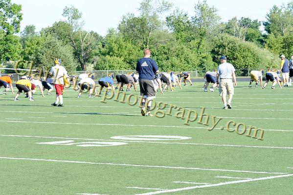 2012 Clarkston Football Team Camp
