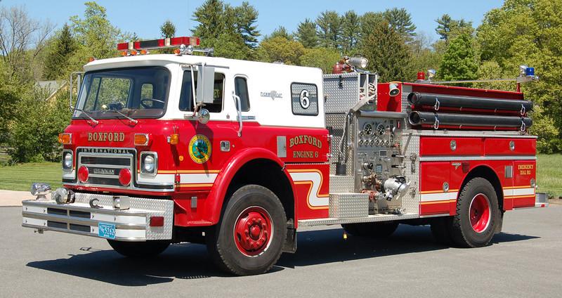 Retired  Engine 6   1982 International/Grumman   1000/300