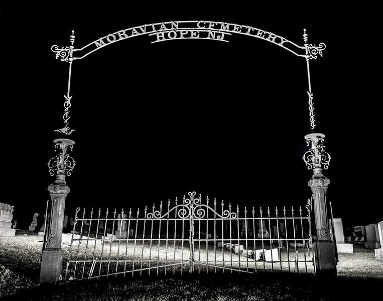 Moravian Cemetery Entrance Gate