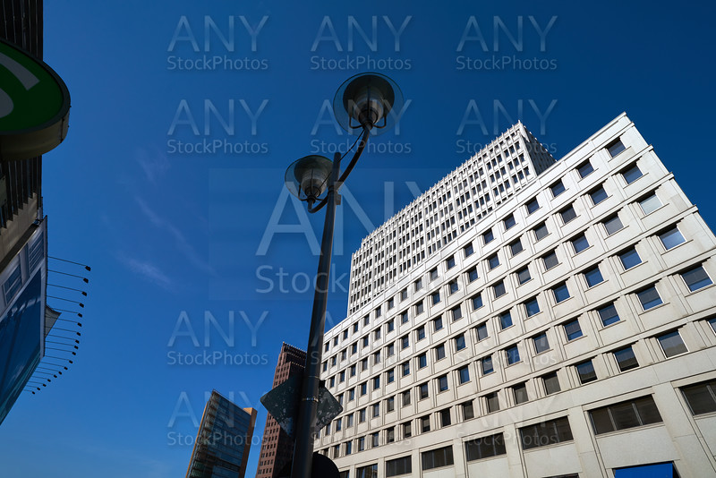 Berlin modern city buildings downtown Germany