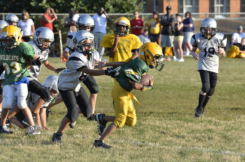 Wildcats vs Raiders Scrimmage 105.JPG