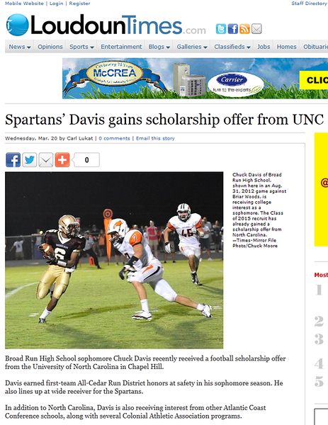 2013-03-20 -- Spartan's Davis Gains Scholarship Offer from UNC.PNG