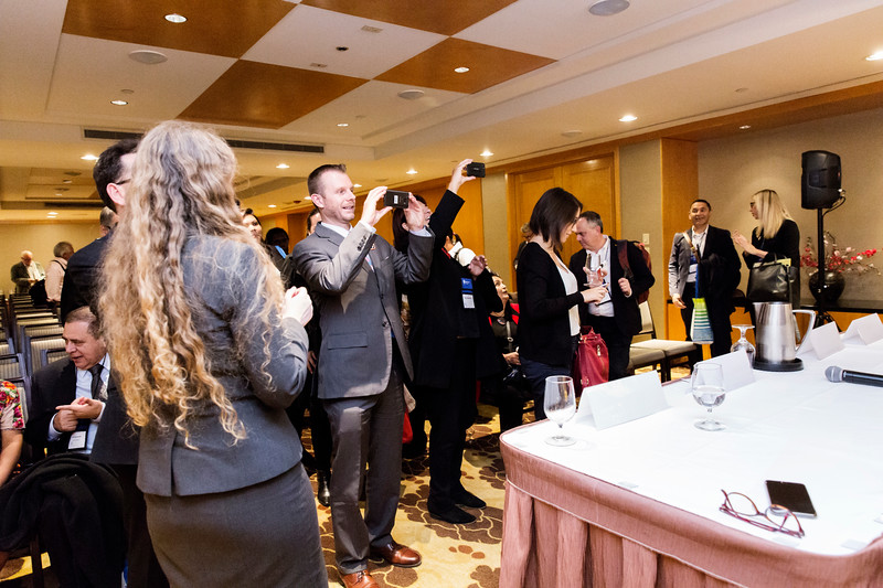 Panel and Networking reception