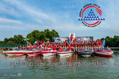Waterski - Rock Aqua Jays - August 05, 2018